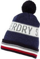 Superdry Hat Navy Marl
