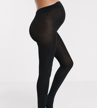 ASOS DESIGN Maternity new improved fit 200 denier black tights
