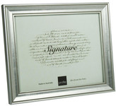 """Profile Classic Timber Photo Frame 8 x 10"""" / 20 x 25cm Silver"""