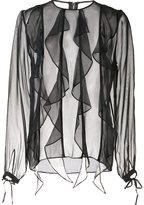 Thomas Wylde silk 'Enlighten' blouse