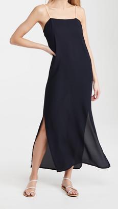 Sara Cristina Pearl Strap Dress