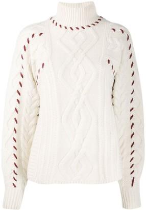 BA&SH Eba stitch detail jumper