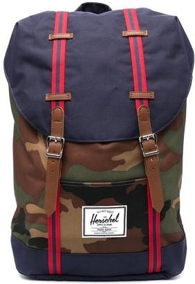 Herschel Camouflage-Print Backpack