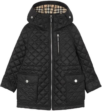 Burberry Nylon Quilted Coat