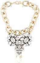 Anton Heunis Swarovski Crystals Pygar Necklace