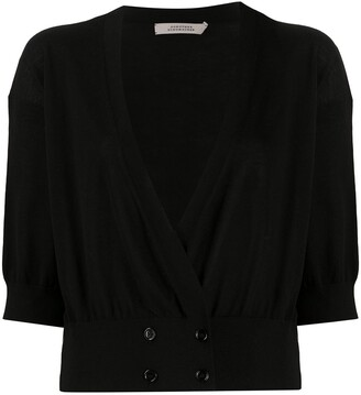 Dorothee Schumacher Cropped Double-Breasted Button Fastening