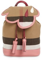 Burberry Girl's Cloud Backpack - Pink