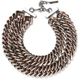 Lafayette 148 New York Reversible Double Chain Necklace