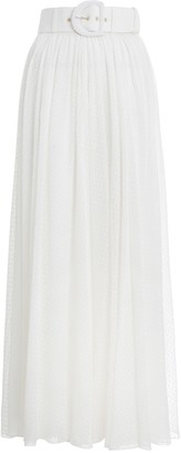 Zimmermann Super Eight Dot Maxi Skirt