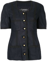 Chanel Pre Owned Short sleeve jacket