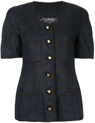 Chanel Pre-Owned Short sleeve jacket