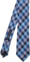 TAROCASH Textured Check Tie