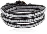Wrap Around Leather Bracelet