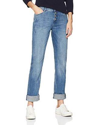 S'Oliver Women's 14.901.71.5512 Straight Jeans, (Blue Denim Stretch 54z3), (Size: 36/L34)