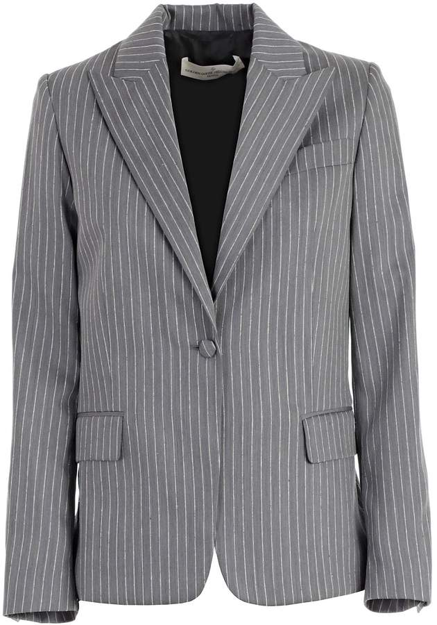 Golden Goose Pinstriped Blazer