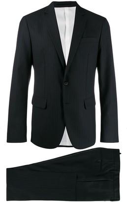 DSQUARED2 striped suit