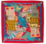 Hermes Etendards et Bonnieres Silk Scarf