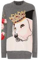 Dolce & Gabbana Wool and cashmere-blend sweater