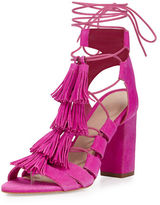 Loeffler Randall Luz Suede Lace-Up Sandal
