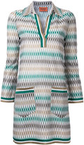Missoni geometric pattern dress