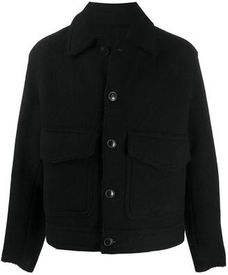 AMI Paris Patch Pockets Boxy Jacket
