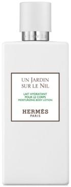 Hermes Un Jardin sur le Nil Moisturizing Body Lotion, 6.7-oz.
