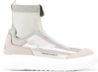 Emporio Armani high-top sneakers