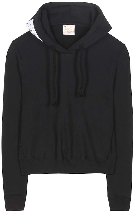 Black Women's Vetements Vetements Women's Sweatshirts Shopstyle Black wNk0OPXZ8n