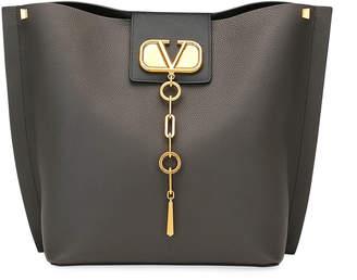 Valentino Garavani VLOGO Escape Small Leather Hobo Bag