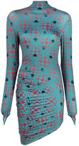 Thumbnail for your product : MAISIE WILEN Abstract-Print Fitted Dress