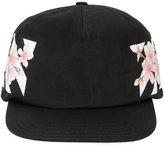 Off-White floral diagonal stripe print cap