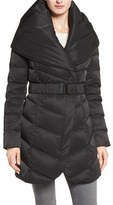 Tahari Women's 'Matilda' Shawl Collar Down Jacket