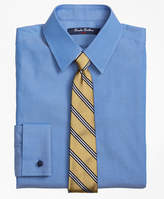 Brooks Brothers Non-Iron Supima® Pinpoint Cotton French Cuff Dress Shirt