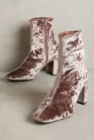Jeffrey Campbell Cienega Velvet Ankle Boots