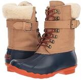 Sperry Shearwater (Tan/Navy) Women's Rain Boots