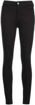 MiH Jeans Bridge High Rise Skinny Jean - Black