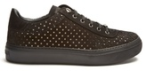 Jimmy Choo Ace Star Cut-out Suede Trainers