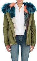 Mr & Mrs Italy Women's Fur-Trimmed & Fur-Lined Mini-Parka