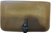 Hermes Dogon leather wallet