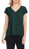 Vince Camuto Women's Mixed Media Blouse