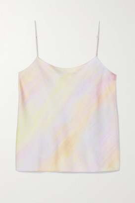 Vince Printed Satin Camisole - Pink