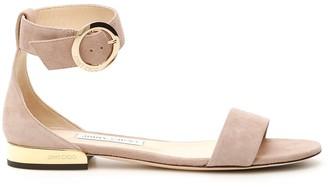 Jimmy Choo Jamie Flat Sandals