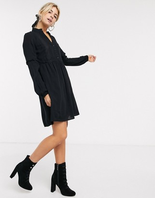 Pimkie smock dress in black