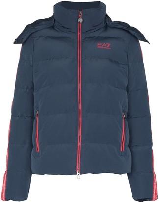 EA7 Emporio Armani Padded Zip-Up Jacket