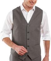 Jf J.Ferrar JF Gray Sharkskin Suit Vest - Classic