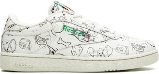 """Reebok Club C 85 """"Tom and Jerry"""" sneakers"""