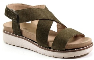 Diba True Sporty Leather Sandals - Cold Bay