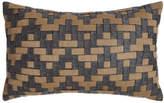 Elaine Smith Smoky Basketweave Outdoor Pillow