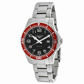 Longines HydroConquest L36884596 Men's Round Silver Stainless Steel Watch