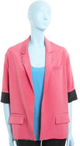Cut Out Jacket - Hot Pink